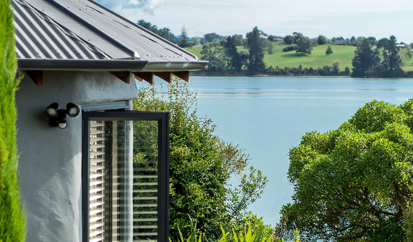 Soak up idyllic views from your room