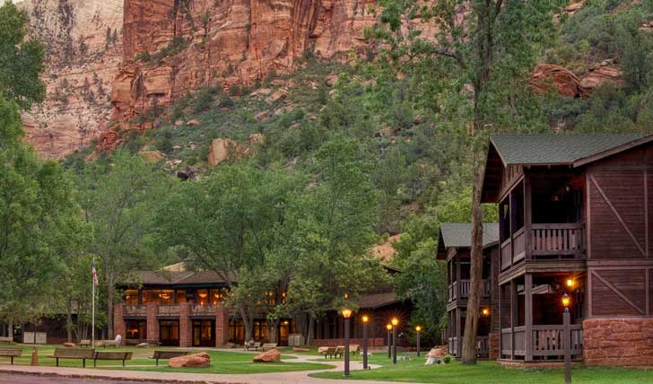 Zion Lodge, Utah