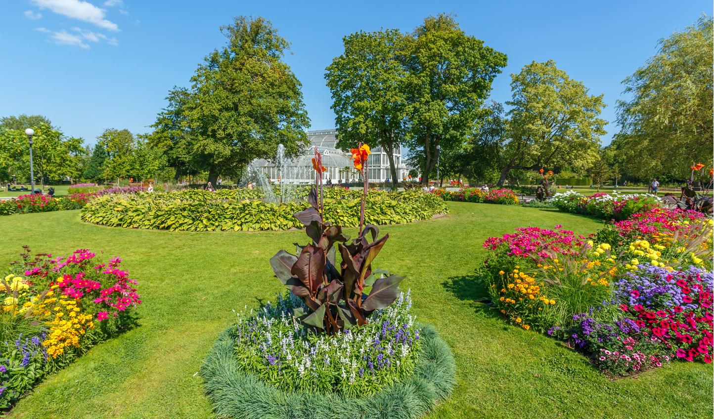 Wander around the Garden Society of Gothenburg