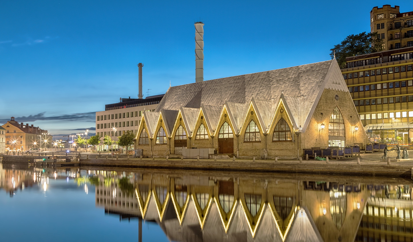 Head to Gothenburg fish market for a spot of dinner