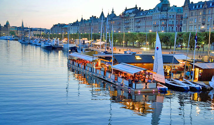 The waterfronts of Stockholm