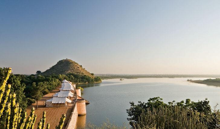 view from Chhatra Sagar Nimaj