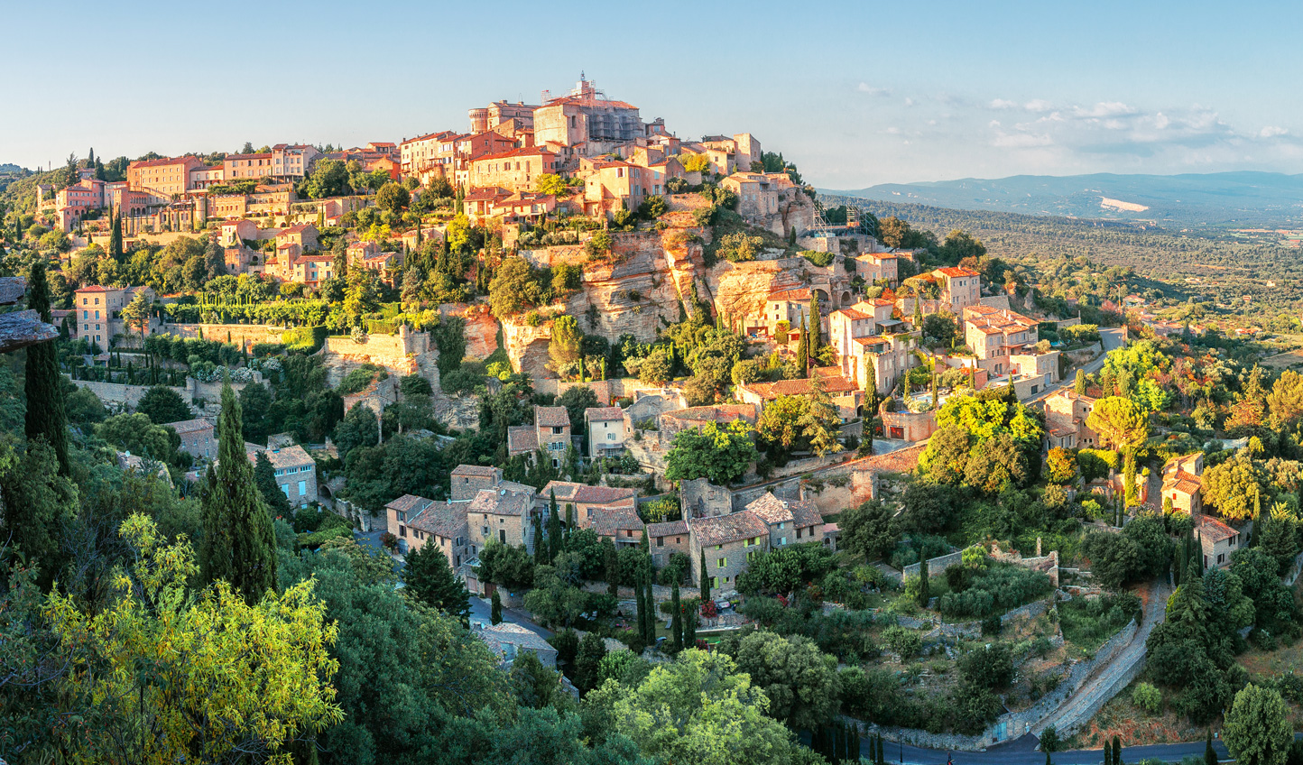 Take in the Provencal charm of Gordes