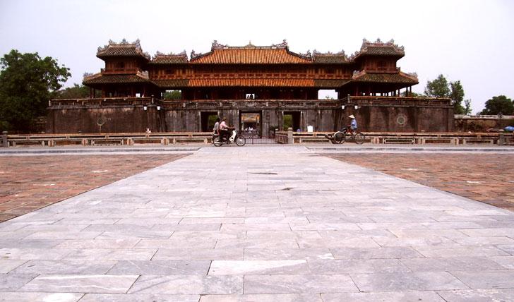 Hue temples