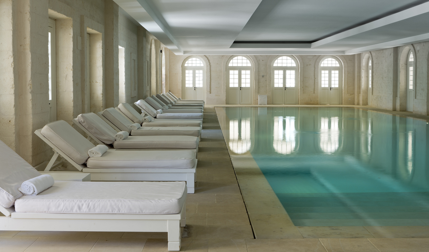 Take a dip in the spa pool after your treatment