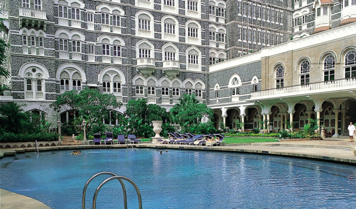 Take a dip at The Taj Mahal Palace