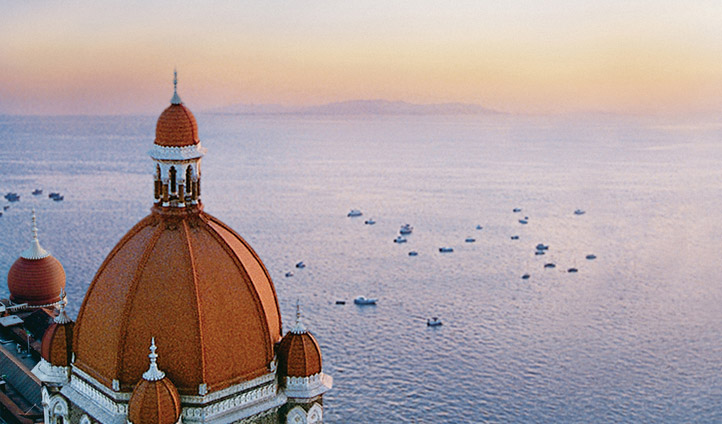 The Taj Mahal Palace views