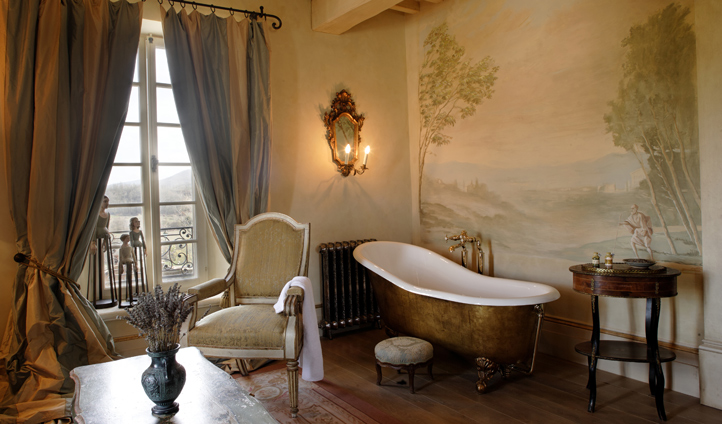 Your bathroom exudes opulence and luxury