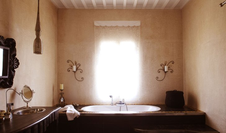 a private bathroom at Villa de L'O, Morocco