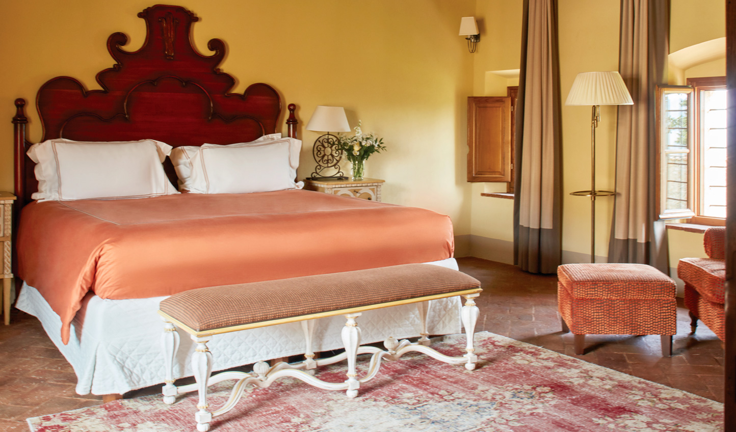 Each of the suites exudes a sense of timeless elegance