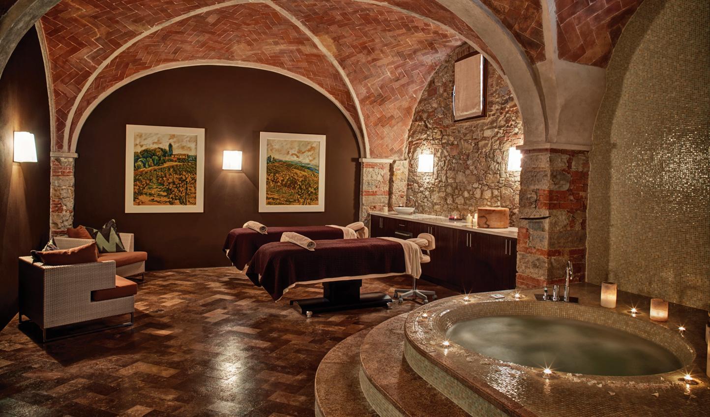 Head down to the subterranean Essere Spa for a rejuvenating escape