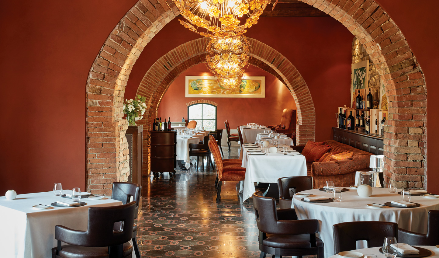 Fine dining paired with local produce at Tosca