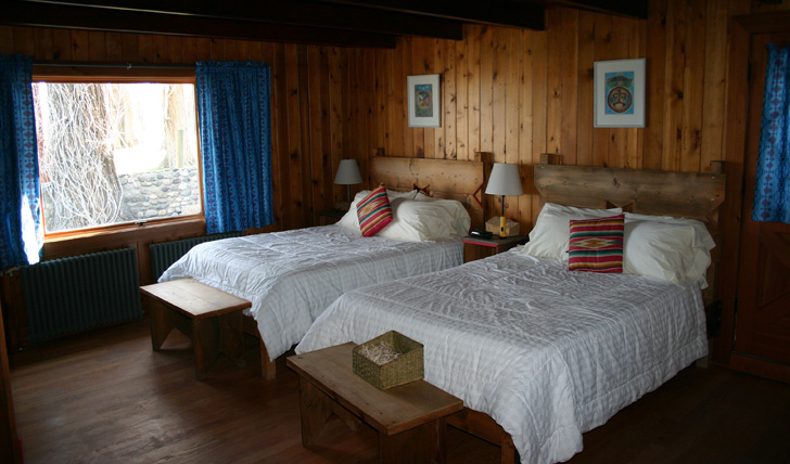 Luxury lodging at Zapata Ranch
