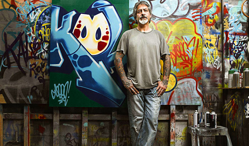 Richie Mirando, a legend in graffiti art