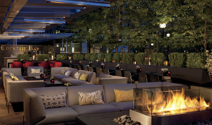 A slice of decadence at Deq Lounge & Terrace