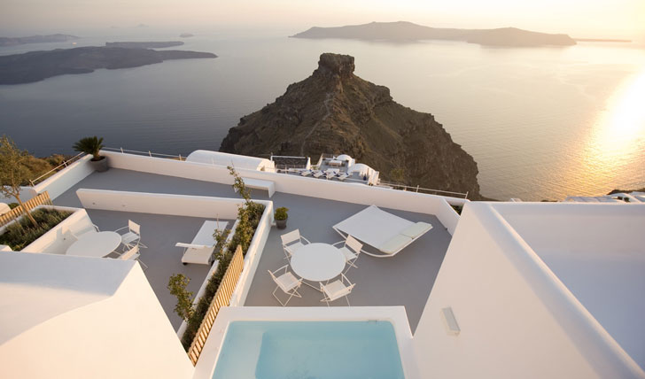 Luxury hotel | Grace santorini | Greece