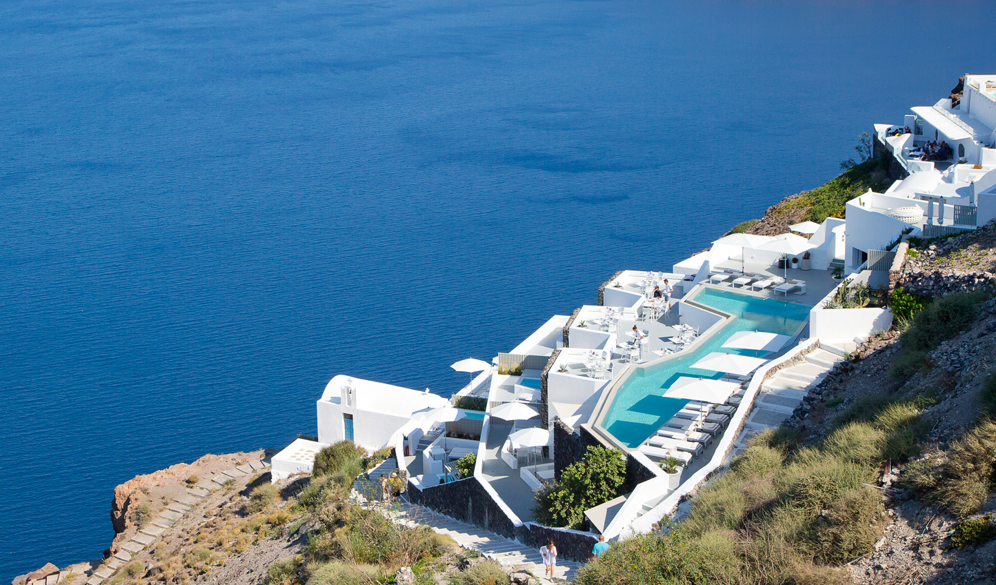 Island bliss at Grace Hotel in Santorini