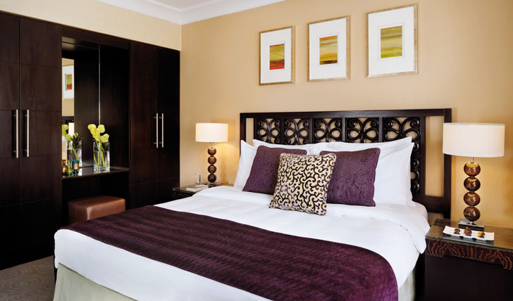 Luxury guestrooms at Mövenpick Petra
