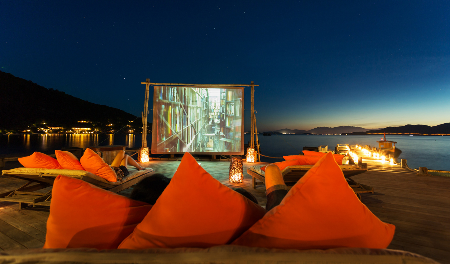 Spend the evening with a film beneath the stars