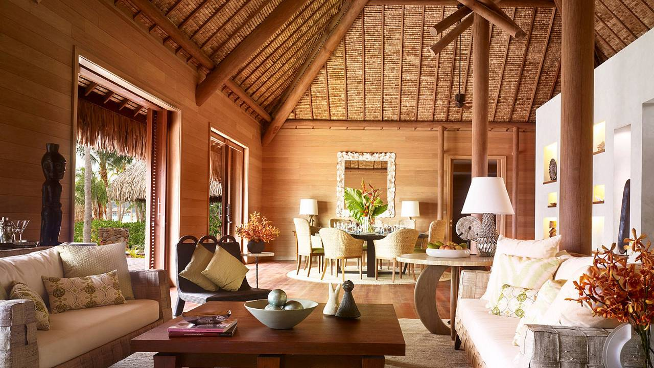 Enjoy the ultimate vacation at the fabulous Four Seasons, French Polynesia
