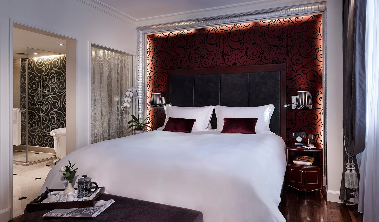 After a day exploring Hanoi, fall back into sumptuous luxury
