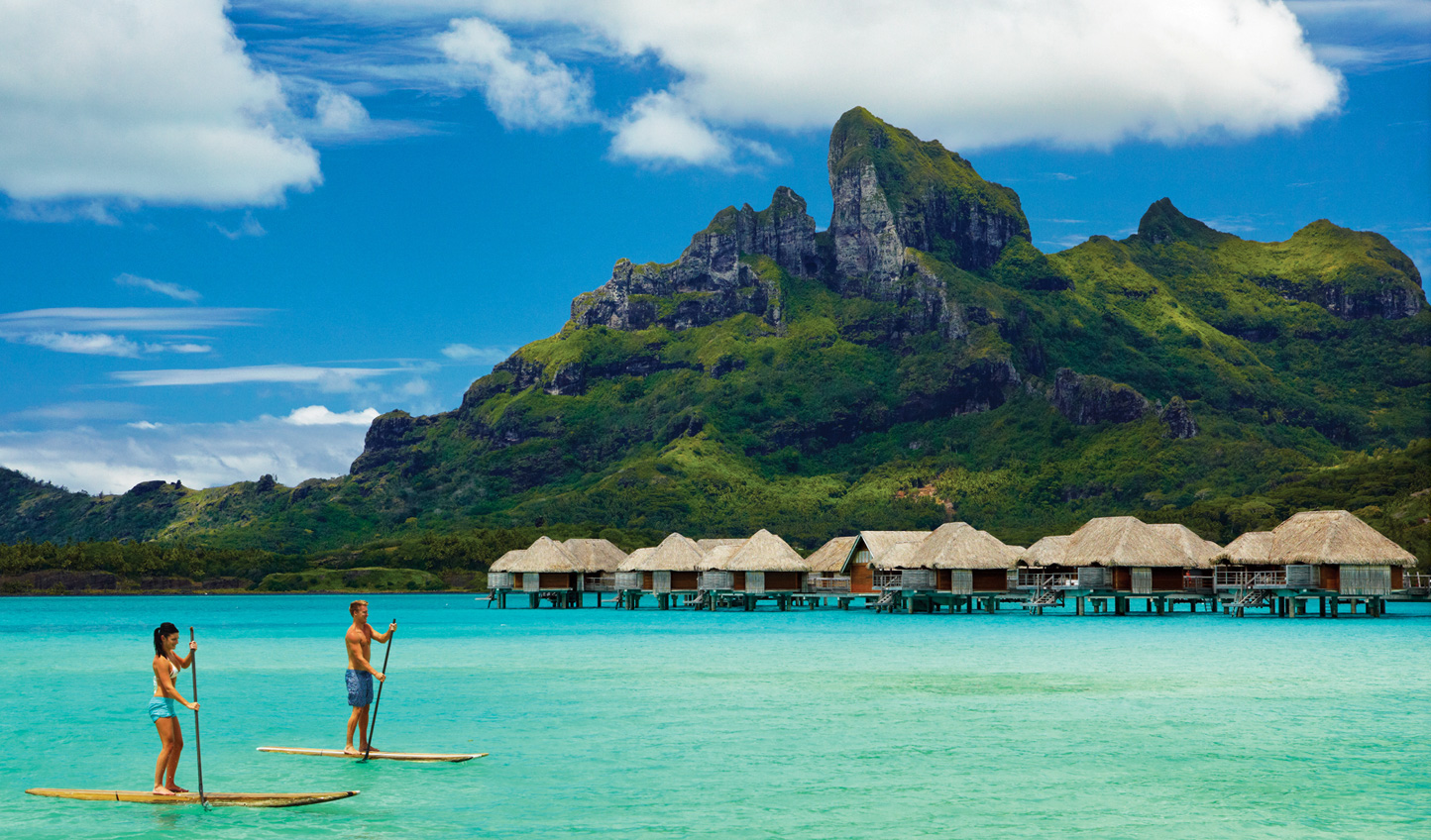 Explore the lagoon by paddleboard