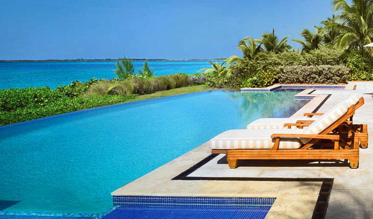 Beach views in the Bahamas