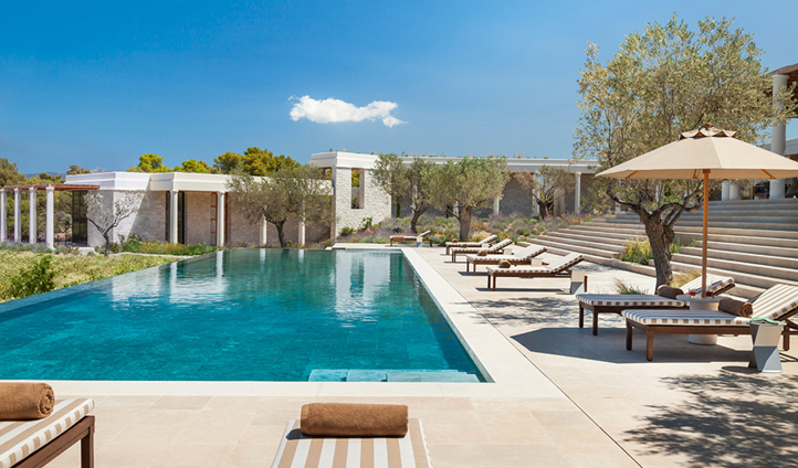 Benefit from a private pool in your villa