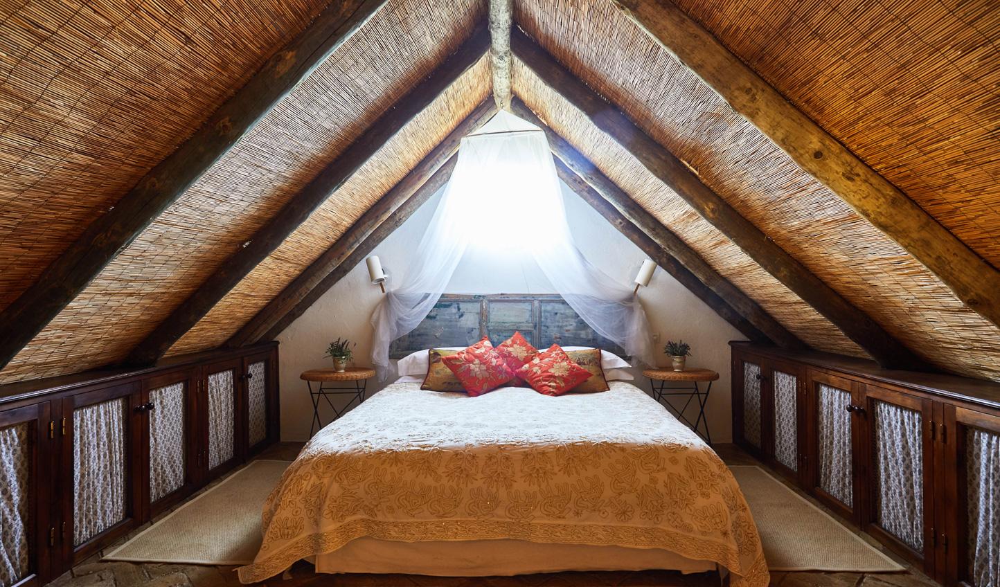 Sleep beneath the eaves