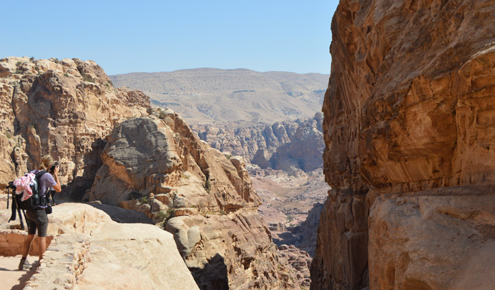Petra is a hikers' paradise