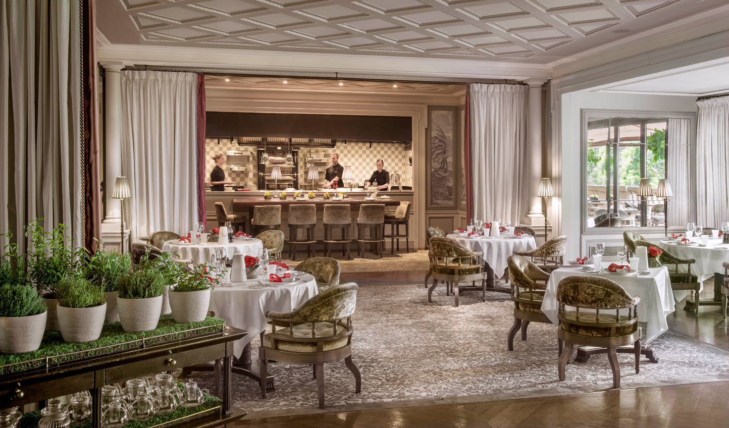 A spot of indulgence at the two Michelin-starred Metropole Monte-Carlo Restaurant