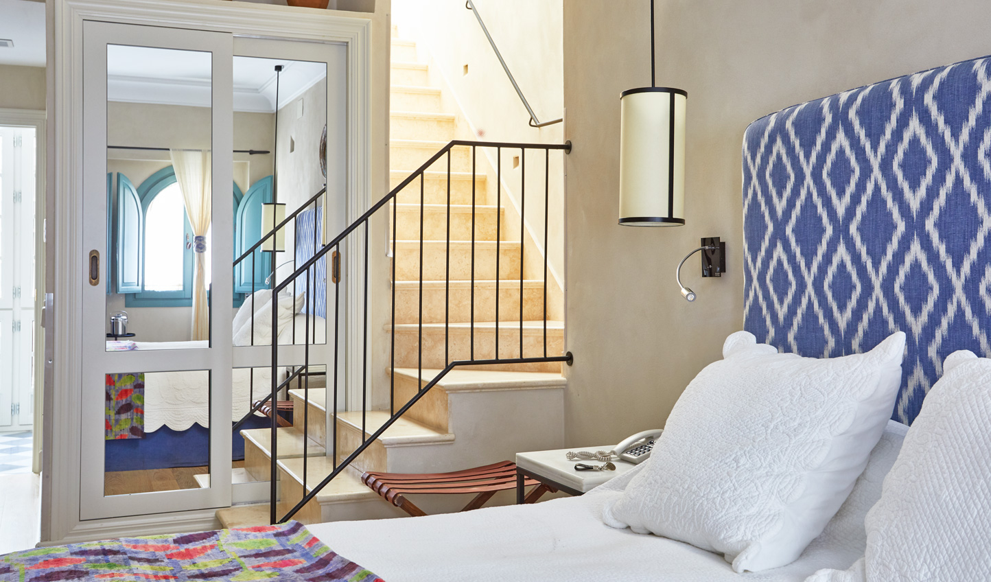 Hideaway in your charming room at Corral del Rey
