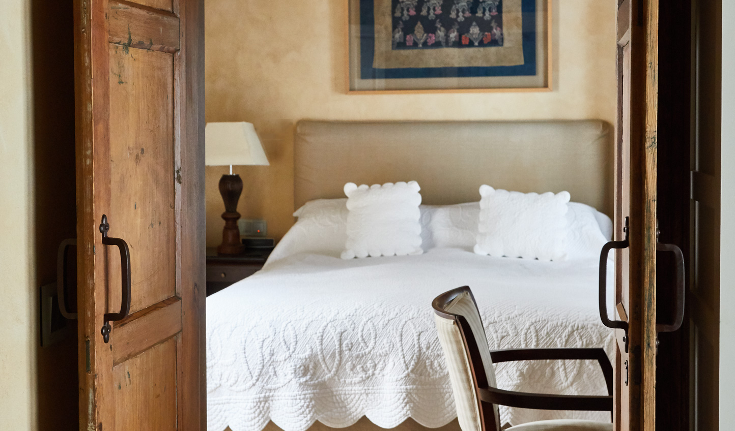 The original features in the rooms add effortless charm
