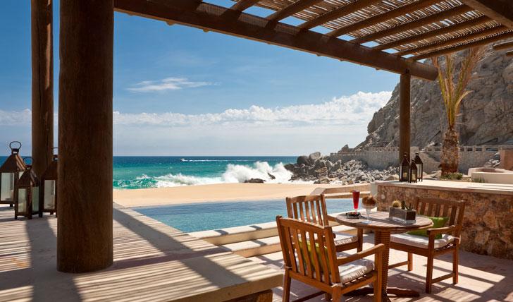 Capella Pedregal Beach Hotel Terrace