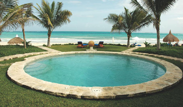 Outdoor Pool at Maroma