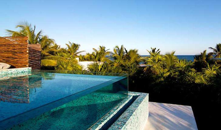 Pool views at Be Tulum