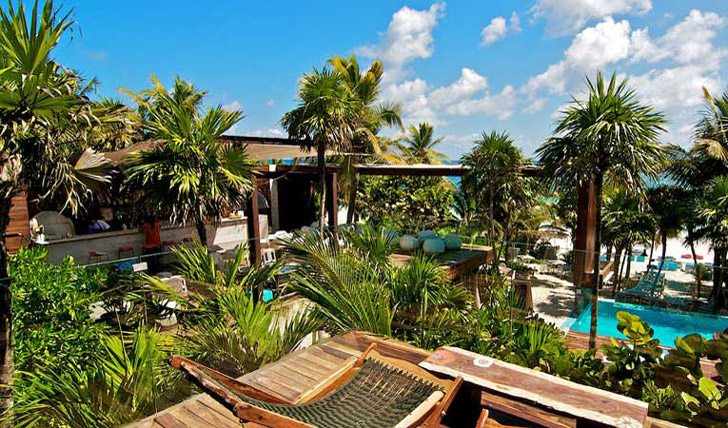 Views from your suite at Be Tulum