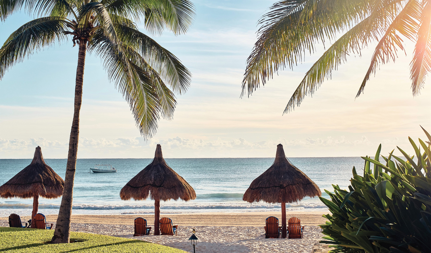 Sink your toes into the soft sands of Belmond Maroma