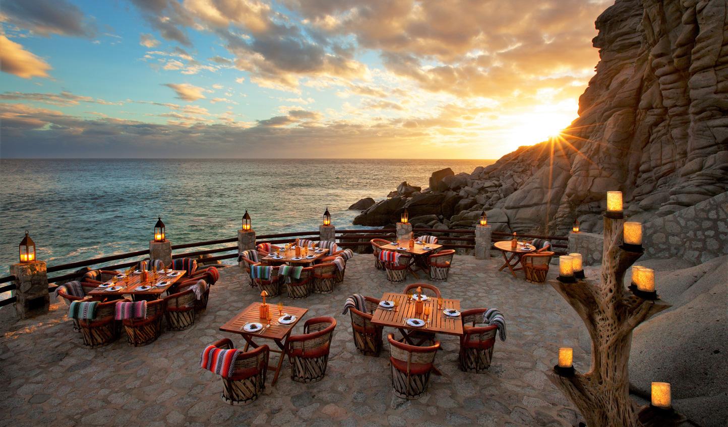 Dine on a cliff edge at El Farallon
