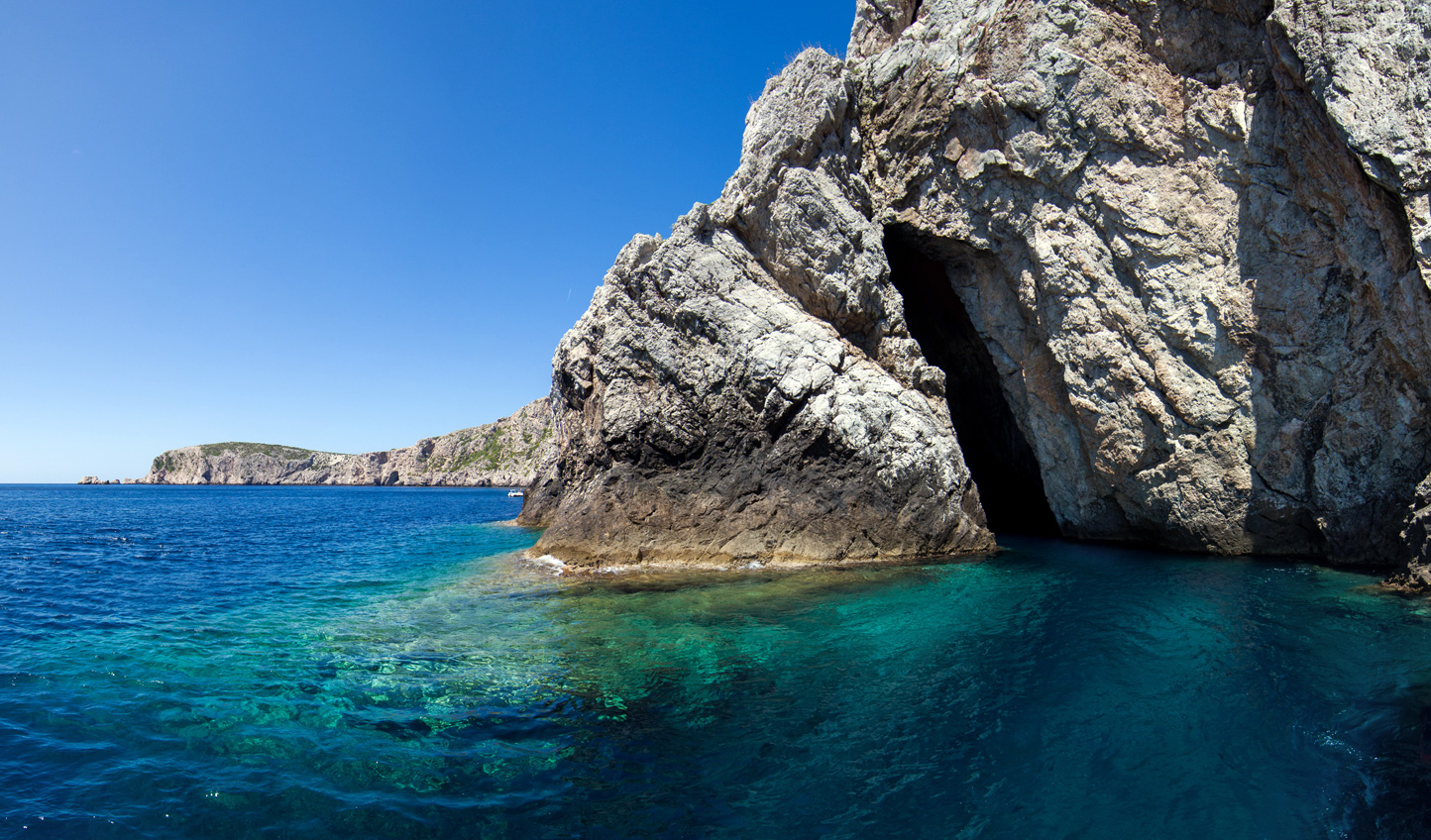 Discover hidden caves on Bisevo