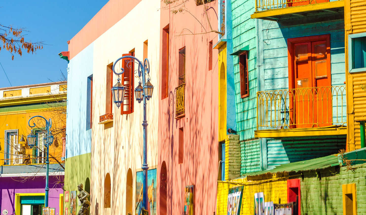 Stroll down the colourful streets of La Boca