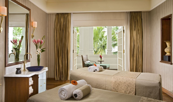 Enjoy an intimate spa treatment for two