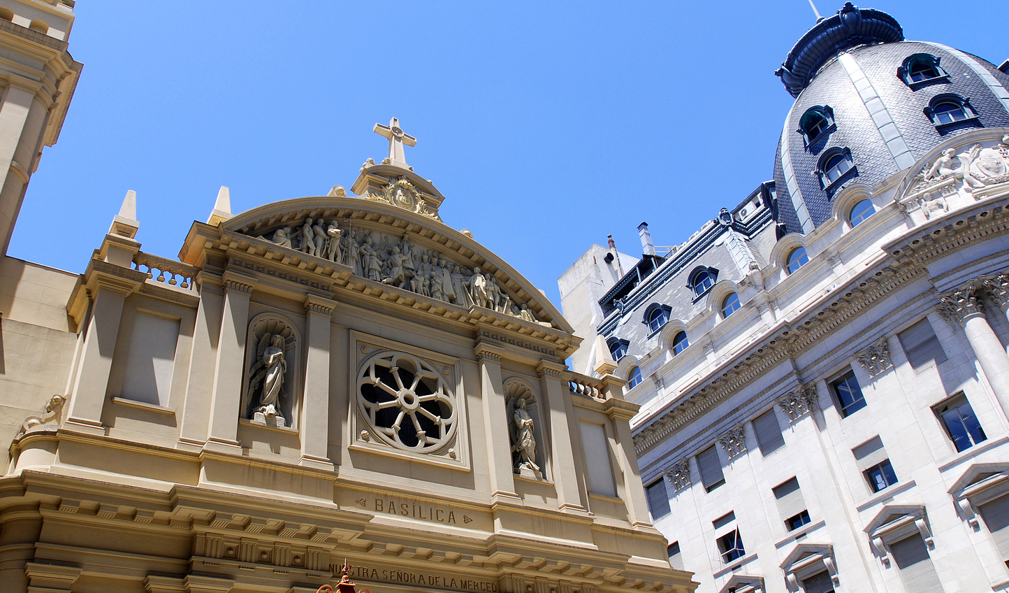 Marvel at Buenos Aires architecture