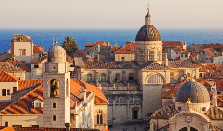 The iconic rooftops of Dubrovnik