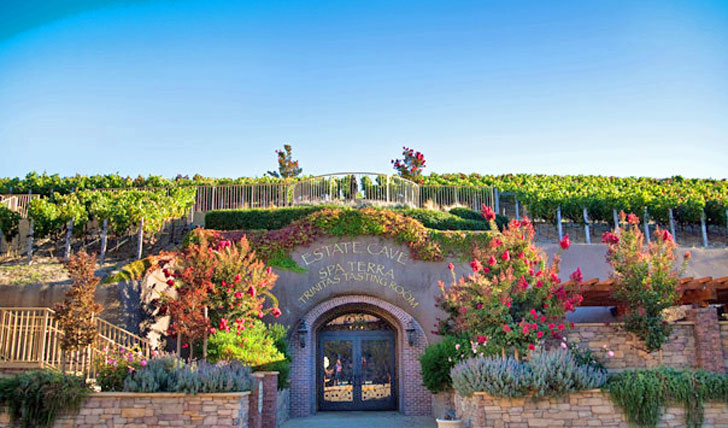 Estate entrance at the Meritage