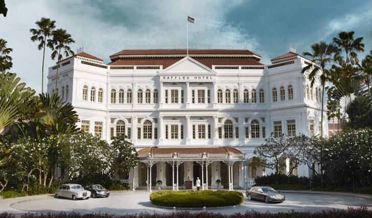 The world-famous Raffles Singapore
