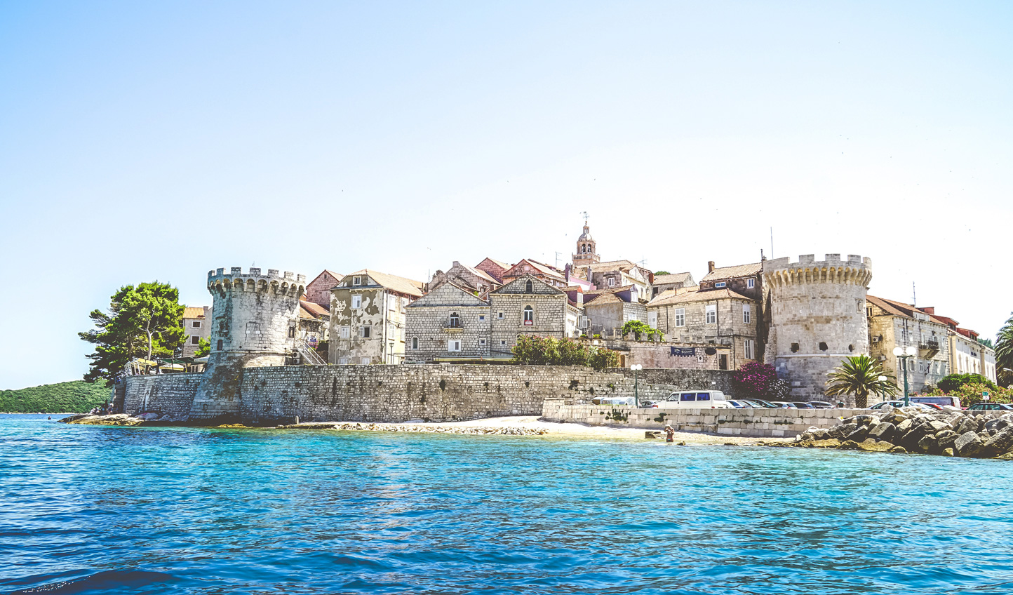 Soak up old world charm in Korcula