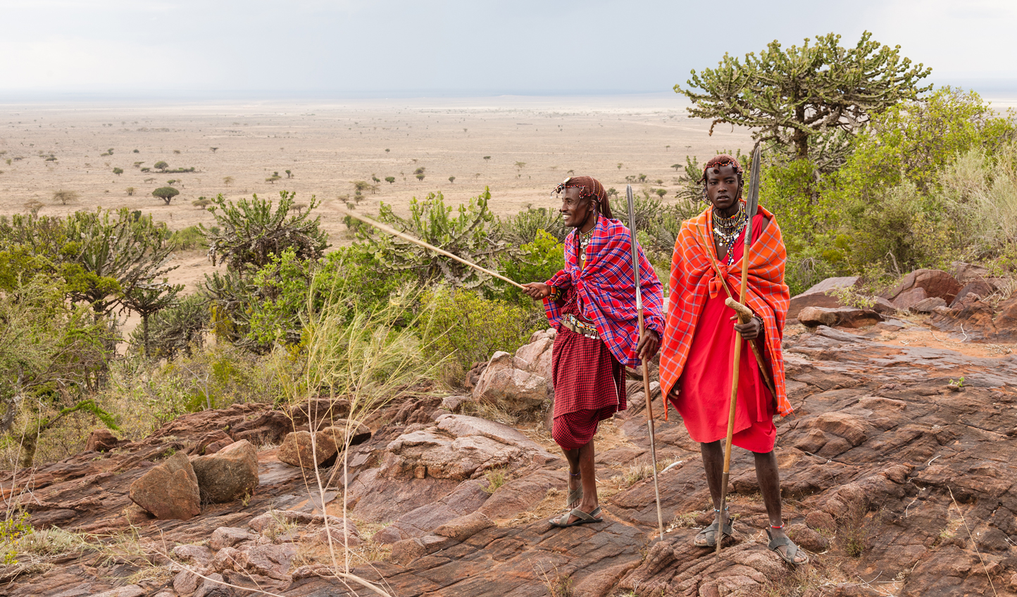 Expert Maasai guides