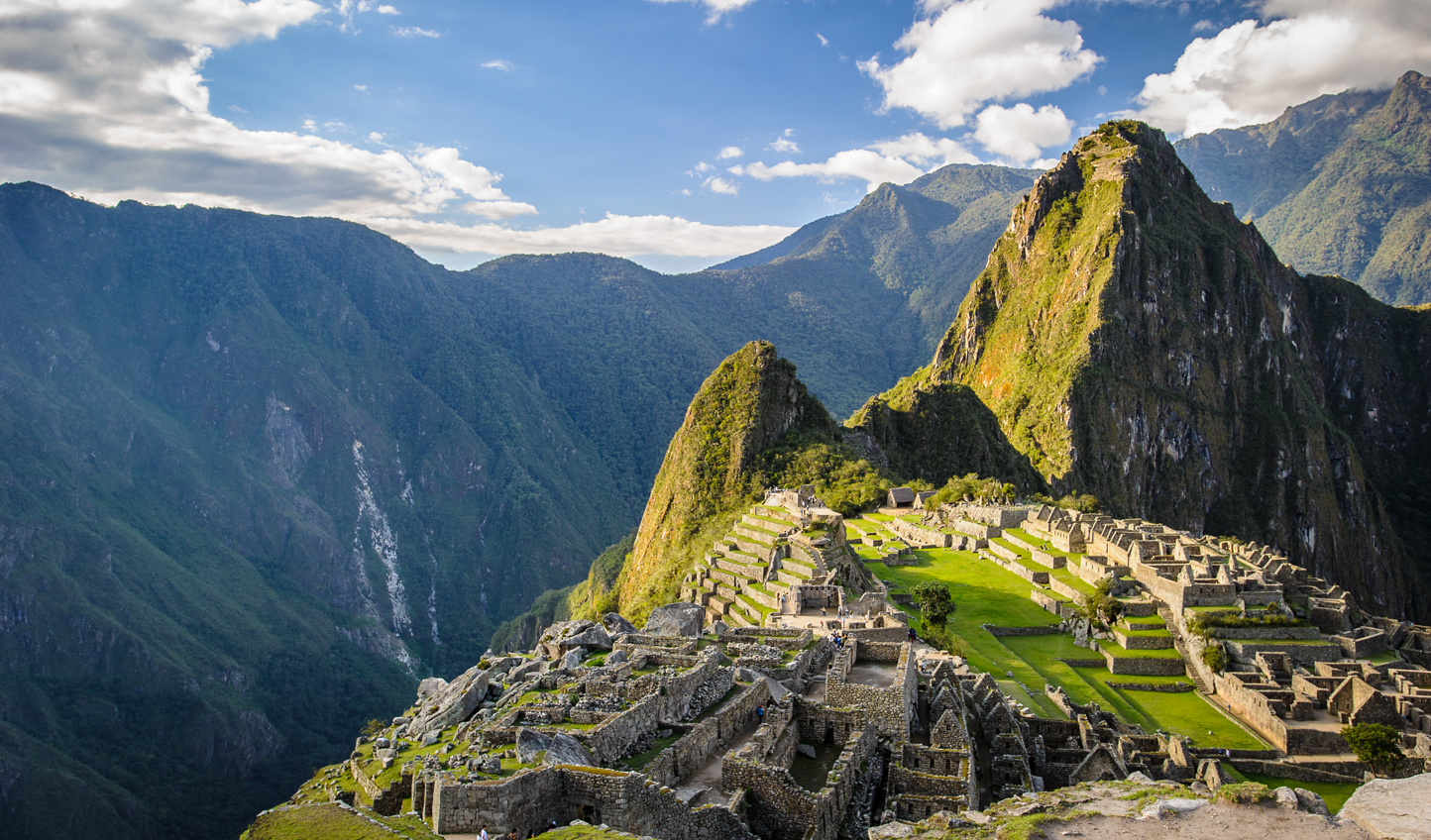 Take in the wonder of Machu Picchu