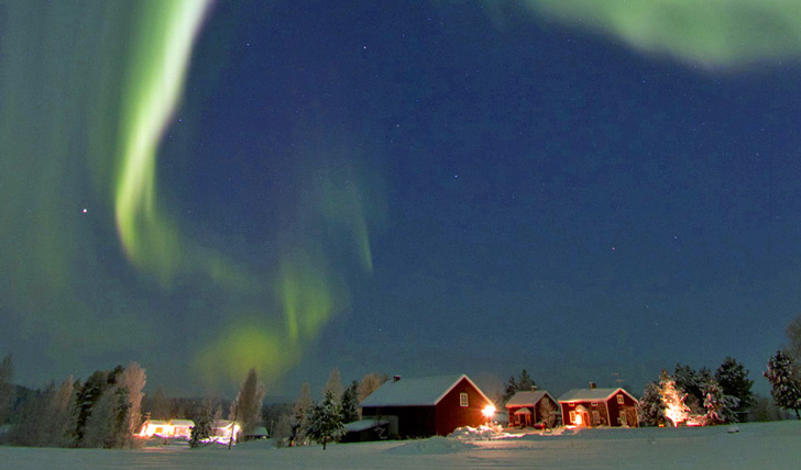 Northern Lights in Lulea Sweden